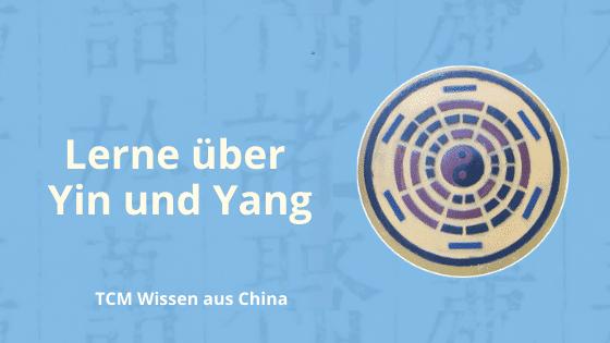 lerne über yin und yang in der TCM
